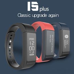 I5 plus schlaue uhr online-Original i5 Plus Smart Armband USB Lade Armband Bluetooth Uhr i5plus Health Tracker Schlaf Monitor wasserdicht Smart Band