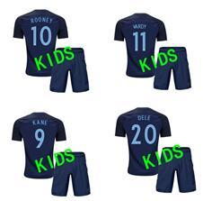 Wholesale England World Cup Jerseys - 17 18 kids World Cup Soccer jersey Kits england ROONEY KANE STURRIDGE STERLING HENDERSON VARDY 2018 away child 20 or more free football