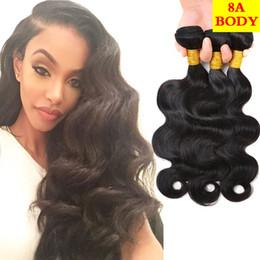 Wholesale princess hair weave - Princess 8A Malaysian Virgin Hair Body Wave 3 Bundles 100% Human Hair Weave Bundles Virgin Unprocessed Malaysian Body Wave Hair