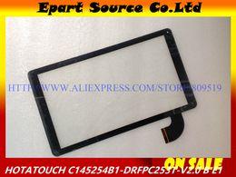 2019 pannello touch screen capacitivo All'ingrosso-A + 10.1 pollici HOTATOUCH C145254B1-DRFPC253T-V2.0 capacitivo touch screen pannello di vetro digitizer capacitivo pannello touch screen capacitivo economici