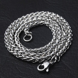 Wholesale Bead Necklace Bulk - Mens Big 316L Stainless Steel Chain Keel Chains Wholesale Bulk Chain Necklace For Jewelry Making DIY Material Findings