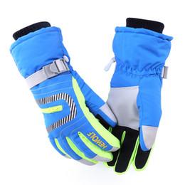 Wholesale Wholesale Outdoor Sportswear - Family Ski Gloves Winter Waterproof Anti-Cold Warm Gloves Outdoor Sport Snow Sportswear Skiing Gloves New Arrival 2527010