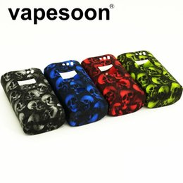 Wholesale Alien Series - VapeSoon New Design Alien 220w Skull Series Silicone Case Protective Silicone Case For SMOK Alien 220W Box Mod
