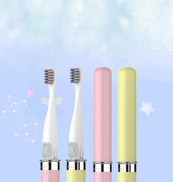 Wholesale Toothbrush Packaging - Electric toothbrush high - end packaging intelligent sound wave vibration portable travel toothbrush