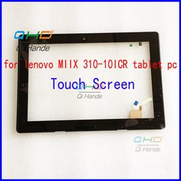 Wholesale Touch Panel For Tablet Pc - Wholesale- 10.1'' inch touch screen,100% New for lenovo MIIX 310-10ICR touch panel Tablet PC touch panel touchscreen LCD Screen