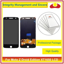 Wholesale Droid Digitizer - For Motorola Moto Z Droid XT1650 And Z Play Droid XT1635 Full Lcd Display With Touch Screen Panel Digitizer Sensor Assembly Complete