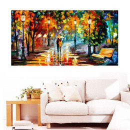 Wholesale Fantasy Embroidery - Full Diamond Painting Fantasy In The Rain Diy Diamond Embroidery European Style For The Living Room A Best Grafts For Familys