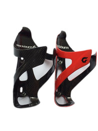 Wholesale Lightweight Mtb Bikes - Bicycle Super Lightweight Carbon Bottle Cage Road MTB Bike 3K Glossy Full Carbon Fiber Water Bottle Cages Holder