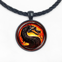 Wholesale Brave Jewelry - Wholesale Glass Dome pendant high quality The brave Dragon necklace Game Of Thrones pendant hot movie jewelry