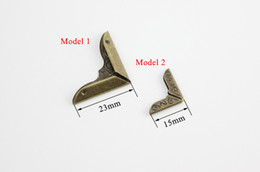 Wholesale Buckle Board - 1000pcs DIY Photo Corner metal poster banner KT board plate book card protective corner book angle frame buckles pattern trumpet bronze