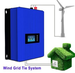 Wholesale Ac Dc 48v - Free Shipping 1000W Wind Power Grid Tie Inverter with Dump Load Controller Resistor for 3 Phase 24v 48v AC DC wind turbine generator