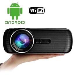 Projetor de jogos on-line-Atacado-BL80 Portátil Mini Projetor Android HDMI TV LED Jogo Projetor Projetor 3D Video Player Beaver 1080 P Full HD TV Home Cinema Teatro