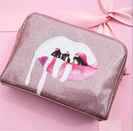 Wholesale Cosmetic Bags Free Shipping - 2017 Newest Kylie Cosmetics Birthday Bundle Bronze Kyliner Copper Creme Shadow kyshadow Makeup Bag free Ship
