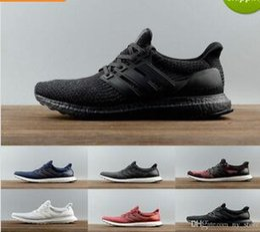 Wholesale Mens Casual Shoes Buckles - Cheap casual shoes 2017 Ultra Boost 3.0 5.0 Triple Men Women Ultraboost 3 Primeknit Black White Mens Womens Trainers Sneakers Tennis Shoe