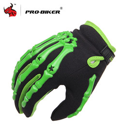 Wholesale Cycling Race Handlebars - Wholesale- PRO-BIKER Full Finger racing gloves Outdoor Sports Motorbike Gloves BMX ATV MTB bicycle cycling Motorbike handlebar gloves