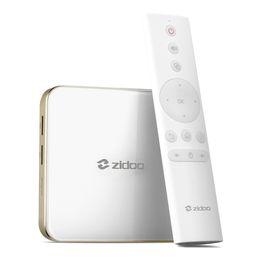 Wholesale Allwinner Android Box - Original ZIDOO H6 PRO Android Nougat 4K 10Bit HDR TV Box Allwinner H6 DDR4 2GB eMMC 16GB WIFI LAN Dolby Bluetooth 4.1