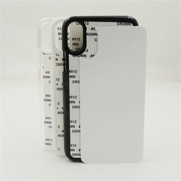 Argentina Para iPhone XS Max XR X 6 6S 7 8 Plus DIY 2D Blancos Sublimación Calefacción Transferencia de Impresión Funda de plástico Suministro