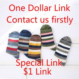 Wholesale Socks For Hiking - Shipping Fees Mens Womens Youth One Dollar Link Socks this Special $1 link for extra fee For Customers Who Contact Us Firstly