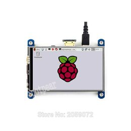 Wholesale Raspberry Pi Touchscreen - Wholesale- Raspberry Pi LCD touchscreen 4 inch 800x480 IPS hdmi display better than 3.5 inch touch screen