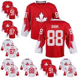 Wholesale Cup Teams - 87 Sidney Crosby 88 Brent Burns 91 Steven Stamkos 91 Tyler Seguin Team Canada 2016 World Cup Of Hockey Premier Home Jersey