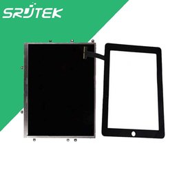Wholesale Ipad Lcd Touch Screen - Wholesale- LCD For 9.7 Inch iPad 1 1st Gen A1337 A1219 LCD Display +Touch Screen Repair Parts For iPad 1 1st Gen A1337 A1219 3G wifi Black