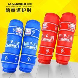 Wholesale Wtf Taekwondo - Wholesale- HOT SALE 2pcs Taekwondo protector WTF caneleira elbow guard taekwondo arm guard taekwondo-protector high boxing