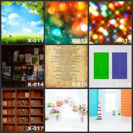Wholesale Custom CMx150CM Books Closet Baby Props Background Backdrop For Studio Camera Fotographical Digital Vinyl Photography Backdrops