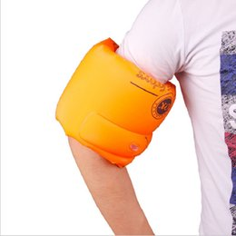 Wholesale Swim Ring Adults - Inflatable Swimming Arm Sleeves Ring Summer PVC Swimming Arm Band Floating Ring Swimming Rings For Children and Adult 1 pair
