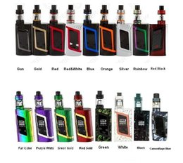 Wholesale E Core - authentic smok alien starter kit with 220w alien mod and 3ml capicity e-juice tfv8 baby tank 510 thread V8 baby core free shipping