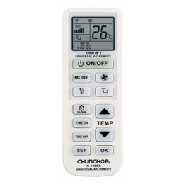 Wholesale Air Condition Used - Wholesale- CHUNGHOP Universal A C controller Air Conditioner air conditioning remote control K-108es USE FOR TOSHIBA PANASONIC SANYO