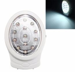 2019 ampoules led blanches naturelles 2W 13 LED Rechargeable Échec de la puissance automatique de panne de courant de la lumière de secours automatique blanc naturel 110-240V Lumière de nuit ampoules led blanches naturelles pas cher
