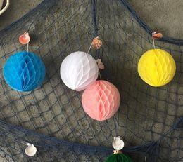 lanterns for christmas 2018 - Paper Handmade Flowers Honeycomb Balls Lantern for Wedding birthday Party Christmas Decoration Home Decors kids DIY 6 8 10 inch HQ001
