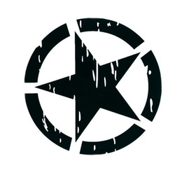 Bande dessinée matérielle en Ligne-motif étoile de style imposant 40 * 40 autocollant autocollant de voiture de matériau réfléchissant
