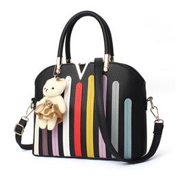 Wholesale Large Light Pink Leather Handbag - Brand New Women Fashion Bags Totes handbags Simple handbag shoulder bag large bag Messenger bag Factory price wholesale(DFMP14)