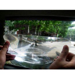 Ángulos de plástico online-DHL Envío Gratis Lente Gran Angular Fresnel Estacionamiento del coche Reversión de la Etiqueta Útil Agrandar Ángulo de Vista Fresenl Lens CEA_304