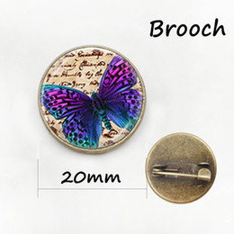 Wholesale Metal Star China - Retro ethnic style black bat metal pin Classic black vampire bat brooches vintage butterfly insect women badge jewelry