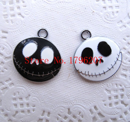 Wholesale Nightmare Before Christmas Cartoon - Mixed Cartoon Nightmare Before christmas princess DIY Jewellery Making Metal Charm Pendants Jewelry Making Party Gifts
