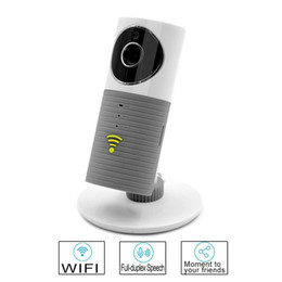Wholesale Ir Cam Wifi - Clever Dog Wireless Wifi Baby Monitor 720P IP Camera Intelligent Alerts IR Nightvision Intercom Wifi Cam Camera For iOS Android DOG-1W