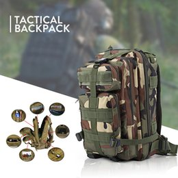 Wholesale Outdoor Military Travelling Bag - 2017 Men Women Backpack Outdoor Military Army Tactical Backpack Trekking Sport Travel Rucksacks Camping Hiking Camouflage Bag