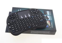 Argentina Mini Rii i8 2.4Ghz Teclado inglés Gaming Air Fly Mouse Teclado Control remoto multimedia para Smart TV Laptop PC X-BOX MOQ: 50PCS Suministro