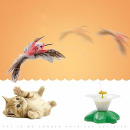 Wholesale Wholesale Pet Bird Toys - Electric flying birds flying birds electric toys funny cats toys cats interactive toys pet products