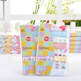 Wholesale- 8pcs lot DANROL Baby Double Gauze Kerchief Nurse Towel Cotton Handkerchief Coupons