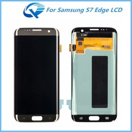 Wholesale Replacement For Inch - Repair Parts For Samsung Galaxy S7 Edge LCD Assembly Touch Screen Display Digitizer 5.5 inch Replacement