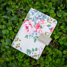 Wholesale Notepads Designs - Wholesale- Pink flowers design office personal diary daily planner agenda organizer Cute Japan fashion stationery A6