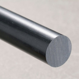 Wholesale Plastic Rod Stock - Plastic Acrylic Plexiglass Solid Black White Rod Extruded Diameter 18mm x 1000mm Length Have Many Different Diameter In Stock
