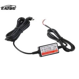 Wholesale Dvr Cam Kit - Wholesale- Mini Hard Wire Cable Auto Car Charger Power box Kit for Dash Cam Camera Recorder Vehicle DVR DC 12V-40V