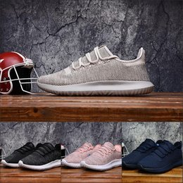 Wholesale Tennis Shoes For Cheap - 2017 Cheap Fashion Tubular Shadow High Quality Running Shoes Sports Cheap Best Men Women Shoes Discount Boots For Sale 36-45 With Box
