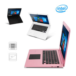 "Wholesale 1366 Touch - Ship from USA! 14.1"" Notebook SpiritBook 1 Large Windows10 Quad Core 32GB 1366*768 HD 1.33GHz Laptop Computer 10000mAh WIFI Bluetooth HDMI"