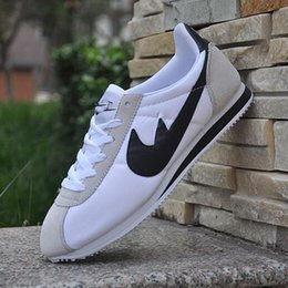 Wholesale Shell Toes - FAST SHIPPING Hot new brands Casual Shoes men and women cortez shoes leisure Shells shoes Leather fashion outdoor Sneakers size 36-44