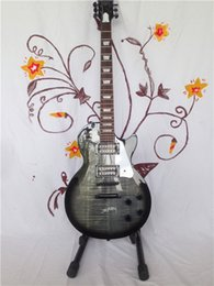Wholesale Transparent Black Guitar - Transparent black electric guitar,Hot sale,customizable,free shipping
